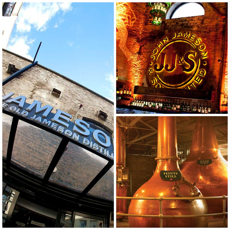 Entrance / JJ's Bar / Stills at the Old Jameson Distillery | © IProspectIE/WikiCommons