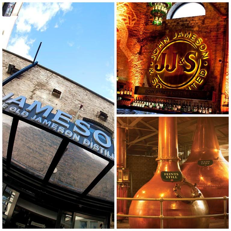 The Entrance to the Old Jameson Distillery / JJ's Bar / Still Room
