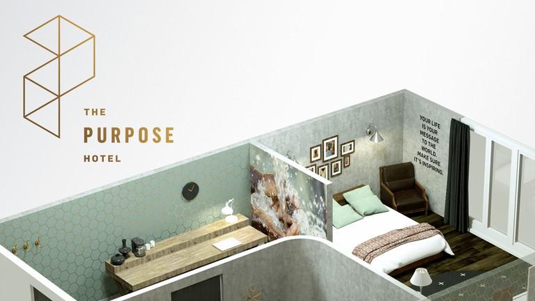 The Purpose Hotel| © Jeremy Cowart