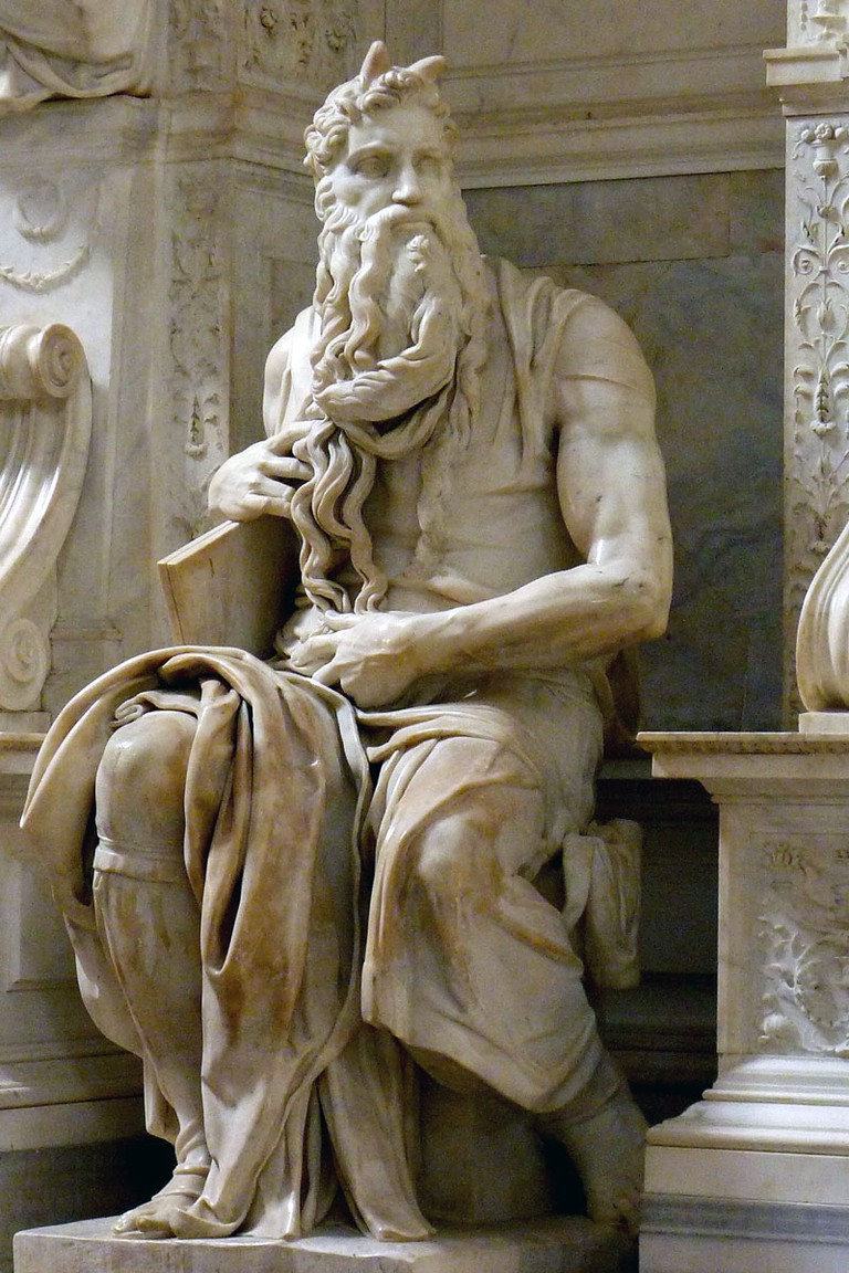 Michelangelo's Moses | © WikiCommons