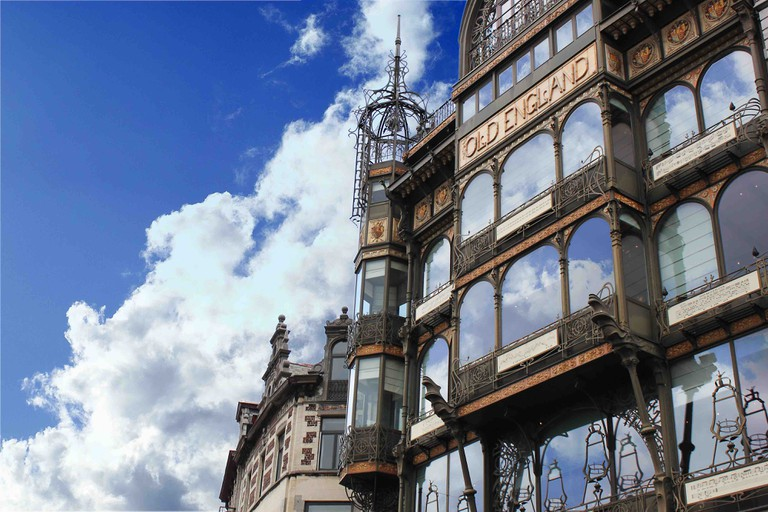 The capital's Musical Instruments Museum (MIM) is housed inside the former Old England shops with their impressive wrought iron detailing by Paul Saintenoy