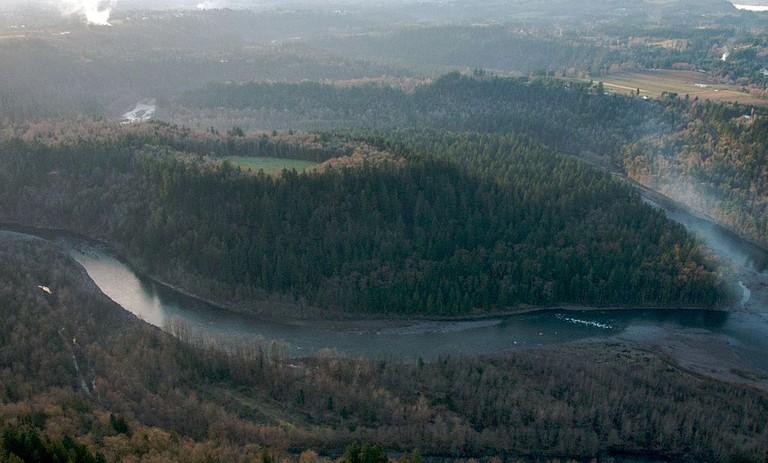 Oxbow Park, Oregon | © Sam Beebe/Ecotrust/Wikicommons