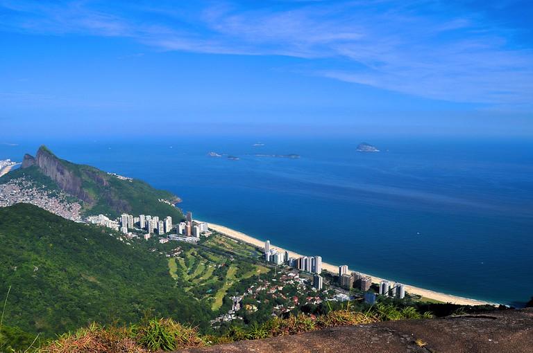 The view from Pedra Bonita