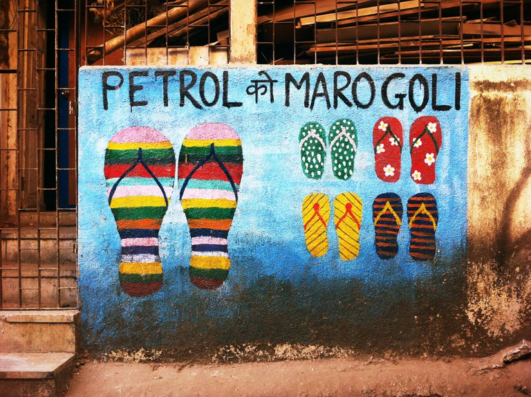 Street Art In Bandra|©Qihui_Flickr