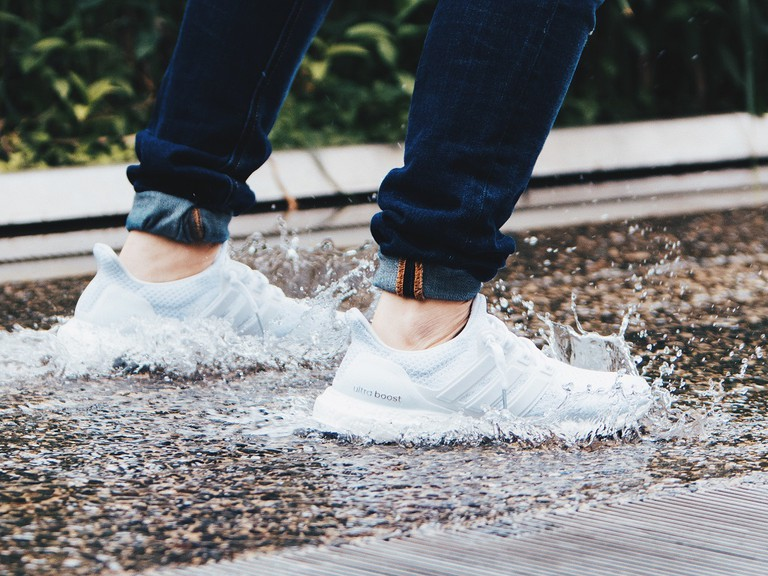 Kuraishi and The Fourness have done limited edition sneaker collabs with big names like Adidas | © Julian Alexander/Unsplash