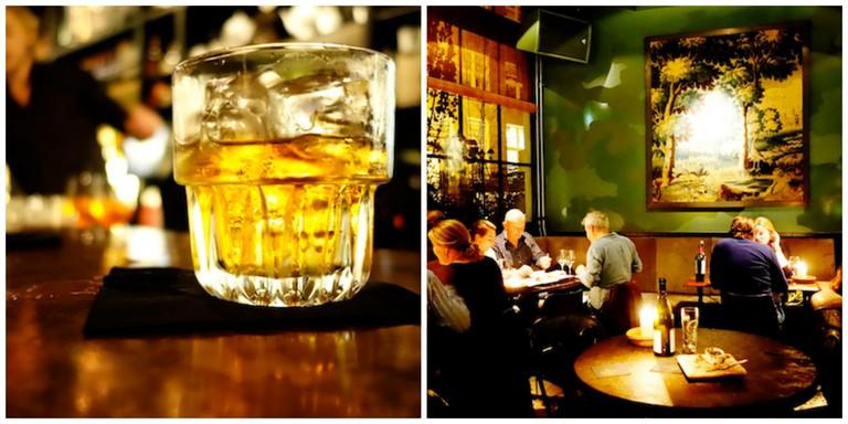 A cocktail at Lion Noir