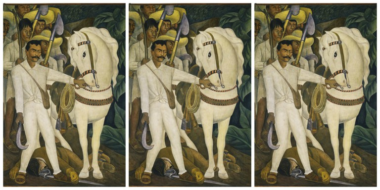 Agrarian Leader Zapata   © Joaquín Martínez/Flickr