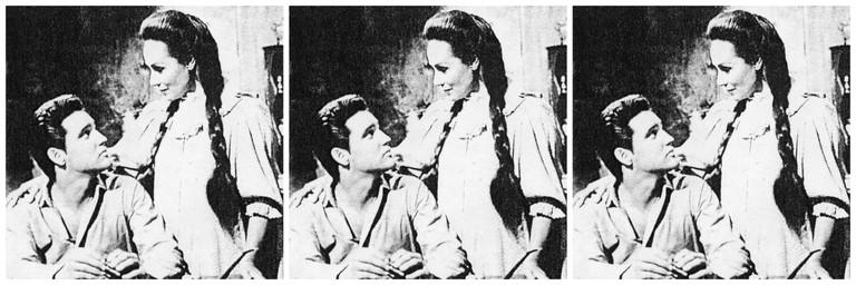 Dolores del Río and Elvis Presley