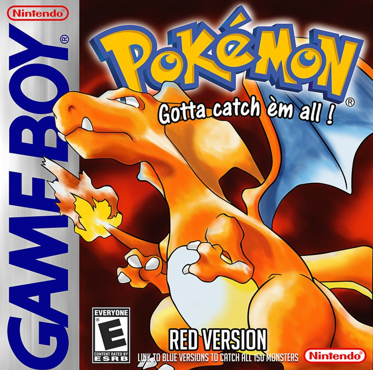 Pokemon Red cover art for the Gameboy version | © Nintendo, scanned by Comunello76/Deviantart