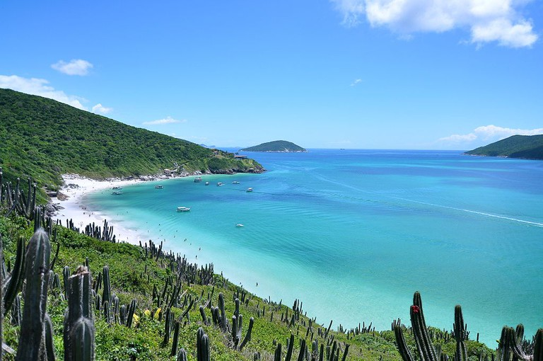 Praia do Forno, a beach in Arraial do Cabo