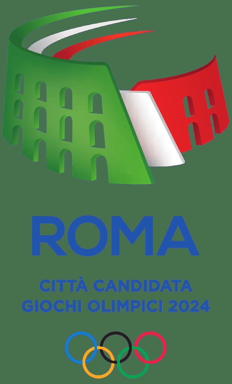Rome 2024 Olympic Bid Logo | © WikiCommons