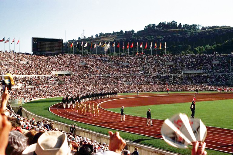 Opening Day of the 1960 Rome Summer Olympics | © WikiCommons
