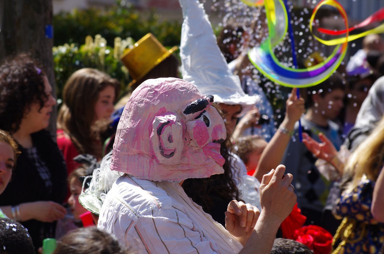 Carnival street costumes