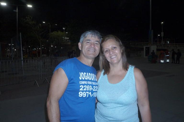 Gelson Jogador and Tania Moraes
