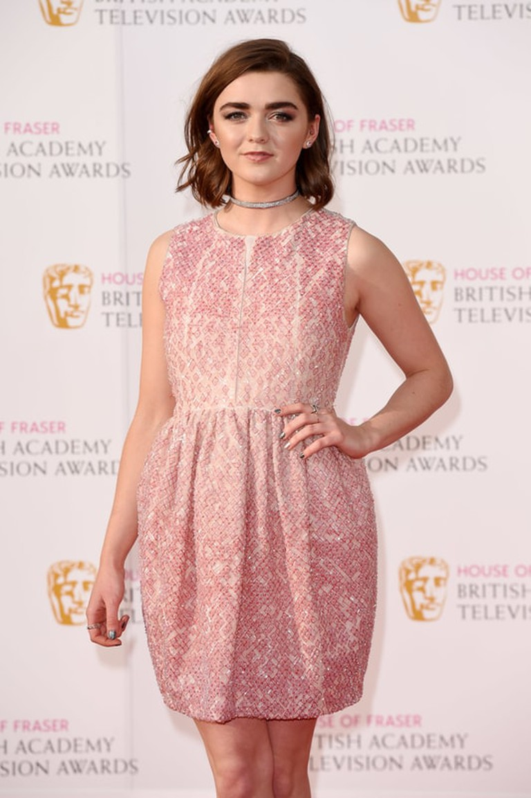 David Fisher/REX/ShutterstockMaisie WilliamsHouse of Fraser British Academy Television Awards, Royal Festival Hall, London, Britain, May 2016