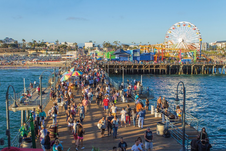 Santa Monica Pier | Public Domain/Pixabay