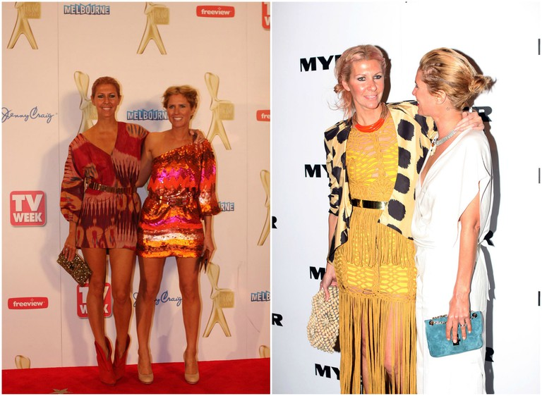 Clarke and Middleton: at TV Week Logies 2011 and Myer Spring Summer 2011/12 Collection launch
