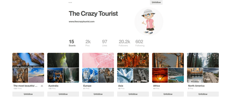 The Crazy Tourist