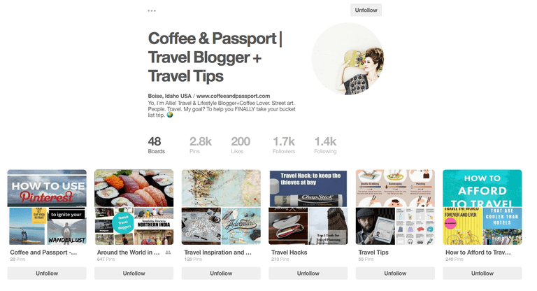Coffee & Passport