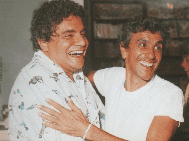 Waly Salomão & Caetano Veloso (1981) © Alteza