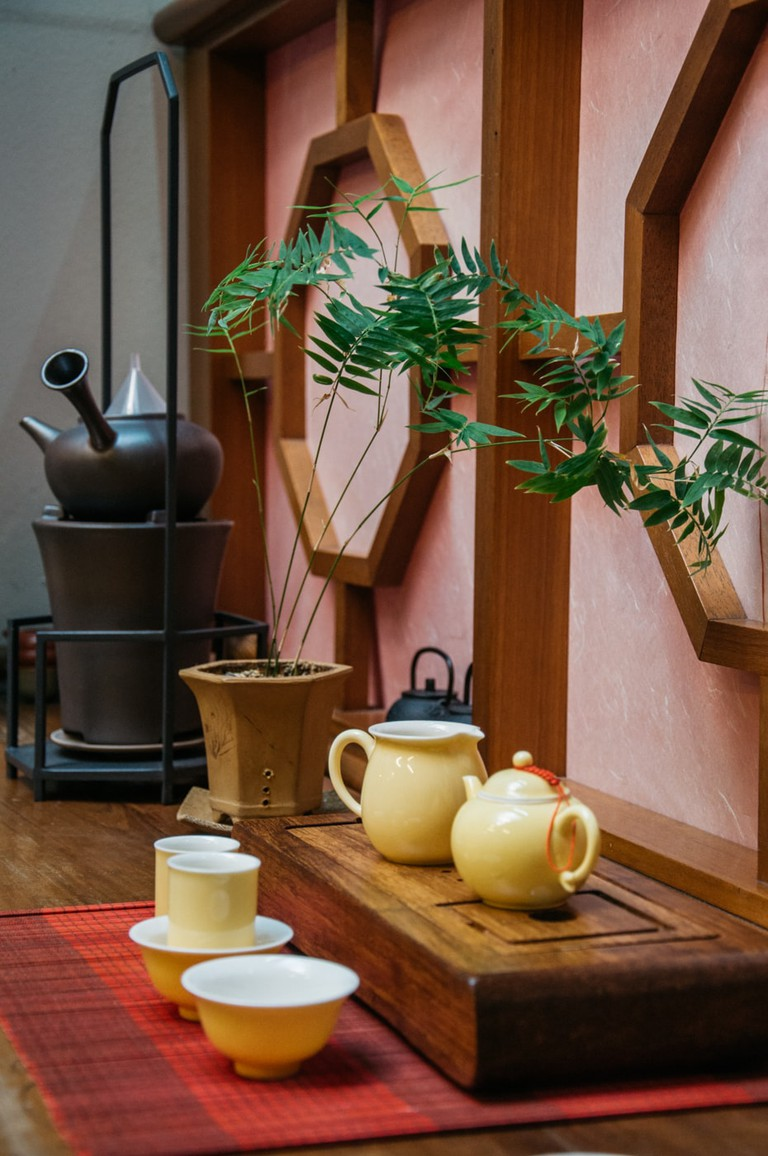 Visit the Tea Houses