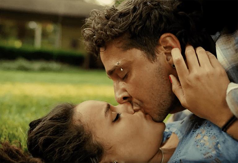First love: Star (Sasha Lane) and Jake (Shia LaBeouf)