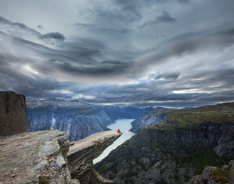 Panorama over Trolltunga, Norway