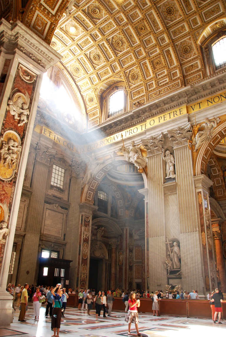St. Peter's Basilica | ©Flickr/Michael Gwyther-Jones copy