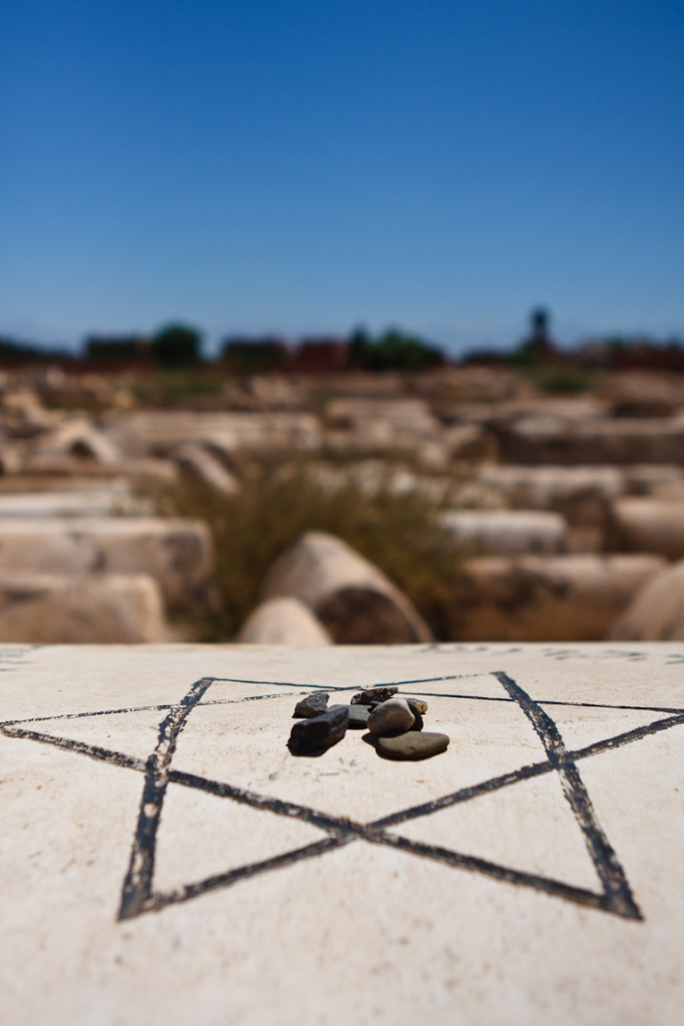 Stones on Grave, Jewish Cemetery, Marrakech | © Liam Davies, Flickr