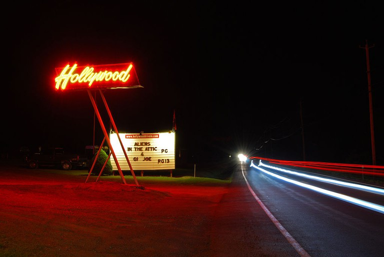 Hollywood Drive In | © Wikipedia Commons