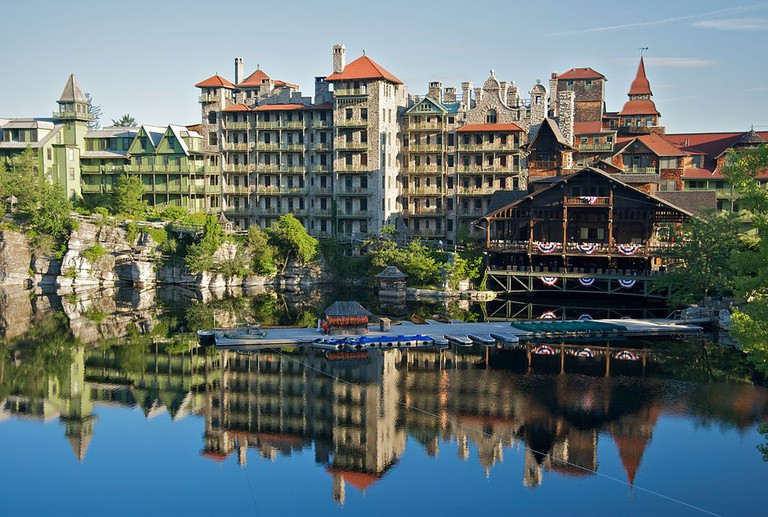 Mohonk Mountain House | © Fred Hsu, Wikipedia Commons