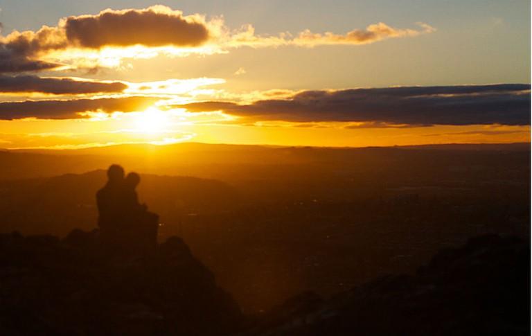 Sunset At Arthur's Seat | © Alan Levine/Flickr