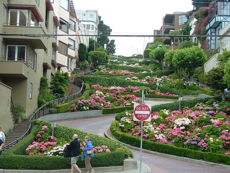 Lombard Street © Jan Kronsell/Wikipedia