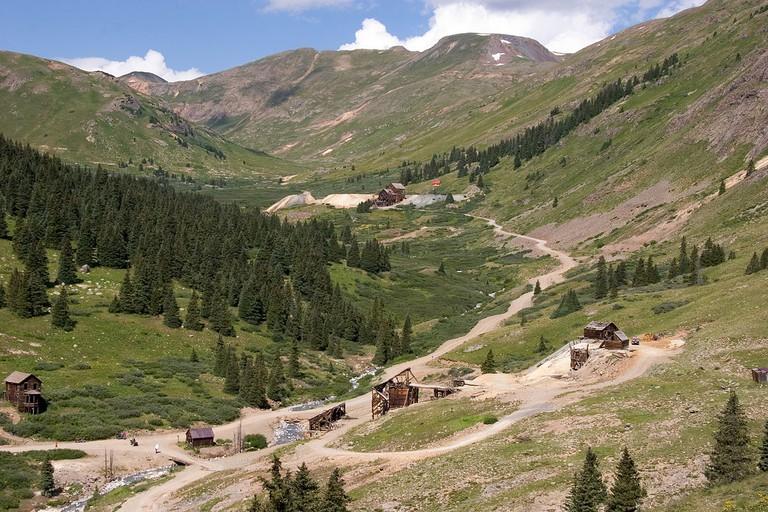 Animas Forks, Colorado and Tuttle Mountain | © Kimon Berlin/Wikicommons