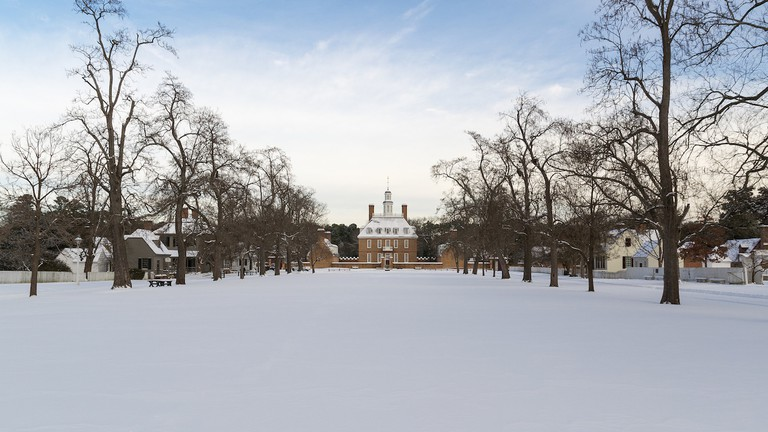 Colonial Williamsburg - Palace Snow | © Brian Holland/Flickr
