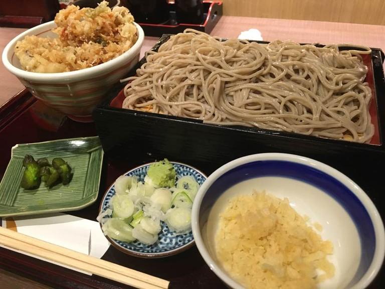 Soba noodles | © Alicia Joy