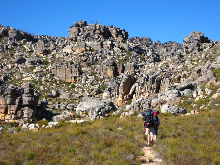 Hiking in the Cederberg Mountains