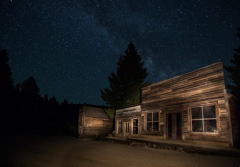 Garnet Ghost Town, Montana | © Bureau of Land Management/Flickr