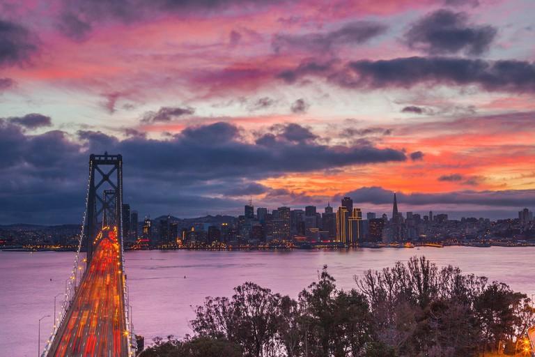San Francisco Sunset from Treasure Island | © Anthony Quintano/Flickr