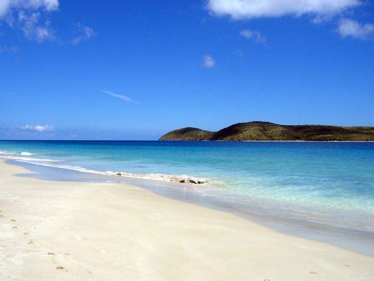 Zoni beach – to the north – Culebra