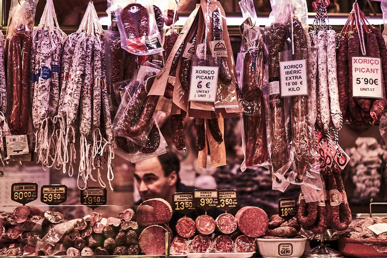 A wide choice of cured and dried meats | © perceptions (off)
