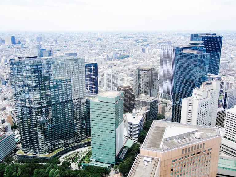 View from the North Observatory of the Tokyo Metropolitan Government Building No. 1 | © Dick Thomas Johnson/Flickr