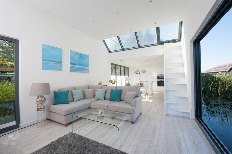 The Chichester has a light-filled, open-plan living space