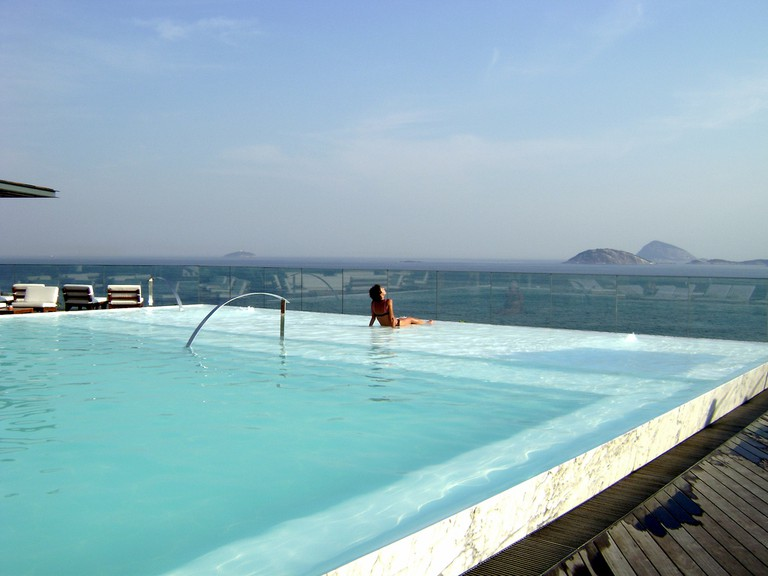 The view from Fasano's rooftop swimming pool |@ lrenom/Flickr