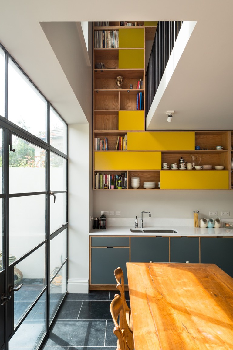 MW Architects and Uncommon Projects designed this clever bespoke storage