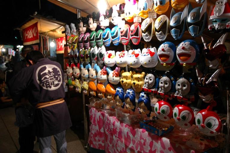 Carnival masks | © Leishangthem/Flickr