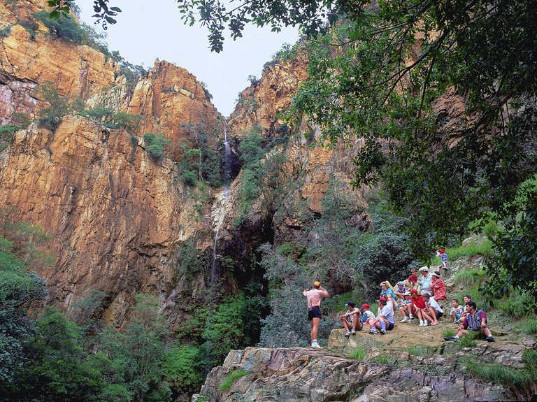Hiking in the Magaliesberg Mountains