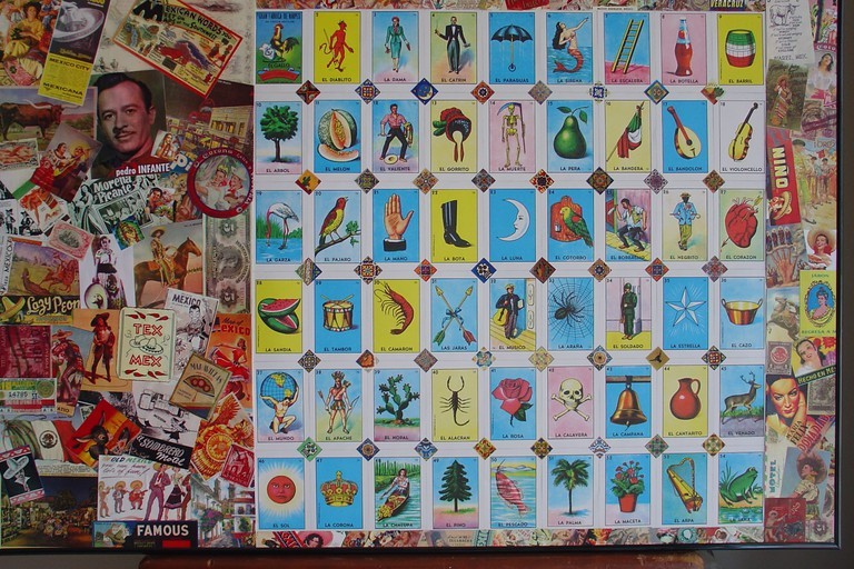 Mexican lotería collage | © meretsoleil2/Flickr