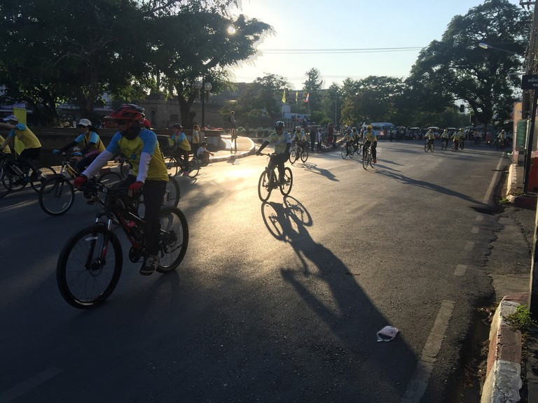 Bike for Dad in Chiang Mai Thailand