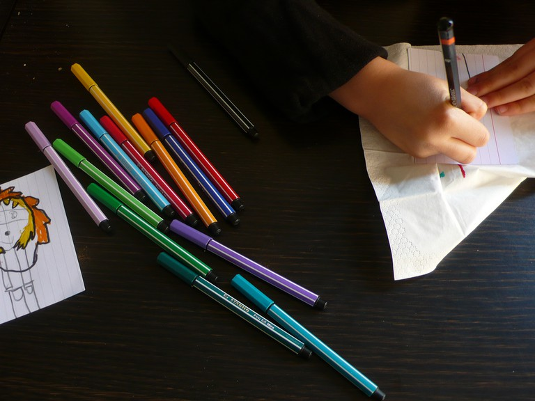 Drawing manga | © Peter Lindberg/Flickr